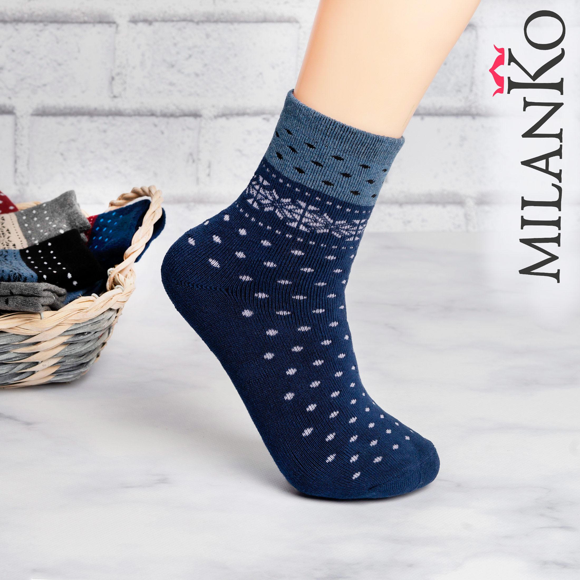 Подростковые носки махровые (3) MilanKo IN-072