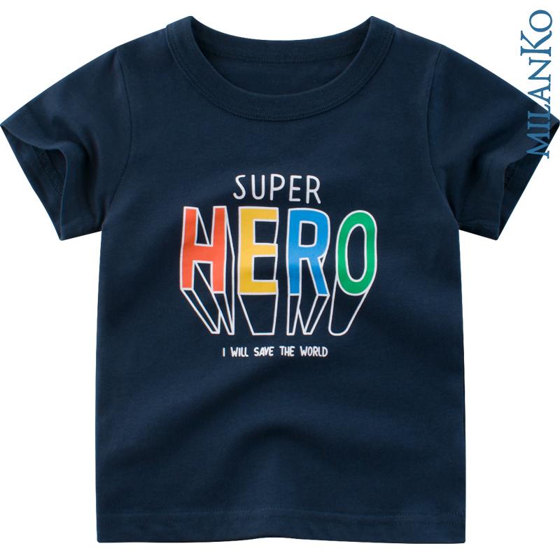 """Футболка """"SUPER HERO"""" MilanKo MF-0101"""