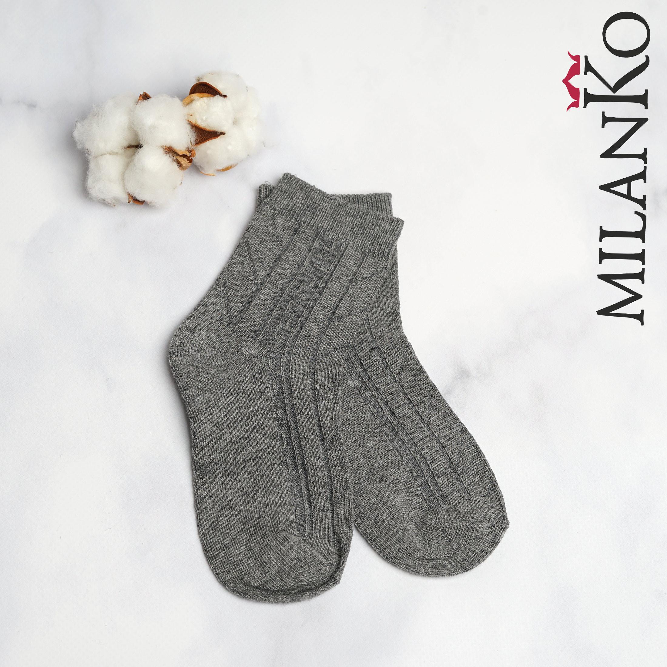 Подростковые носки демисезонные (Узор 1) MilanKo IN-178