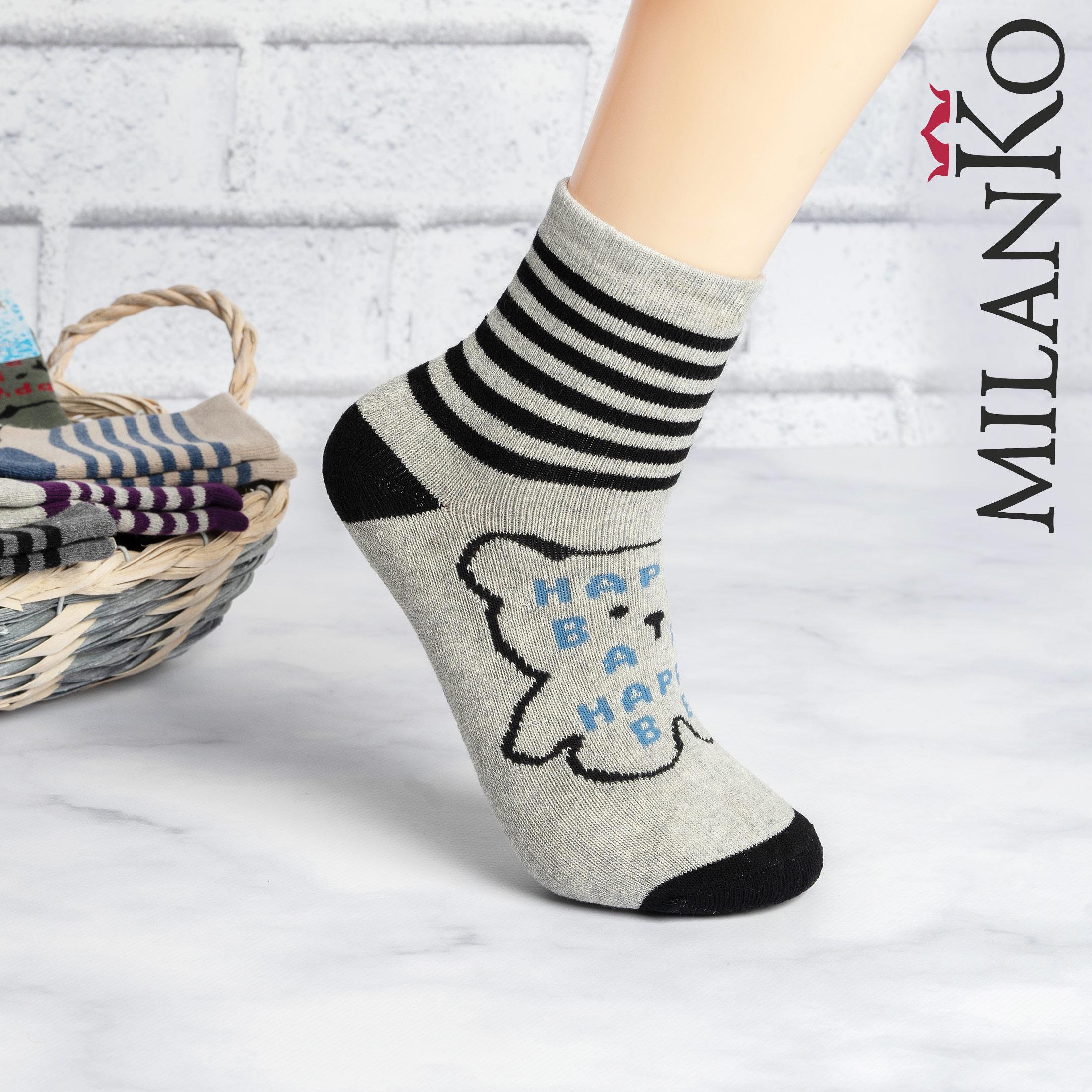 Подростковые носки махровые (4) MilanKo IN-072